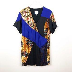Anthropologie Dresses - HD In Paris Camellia Patch Silk Dress HOSTPICK